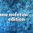 Airs on April 13, 2020 at 01:00PM Stefano Noferini Presents Club Edition