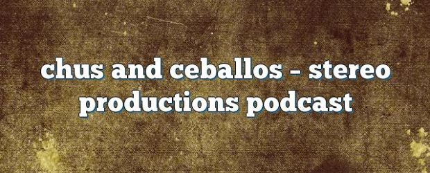 Airs on December 26, 2016 at 07:00AM Chus and Ceballos have been the pioneers and creators of the underground movement known as IBERICAN SOUND. you may also like: Chus and […]