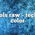 Carols Raw – Techno Color