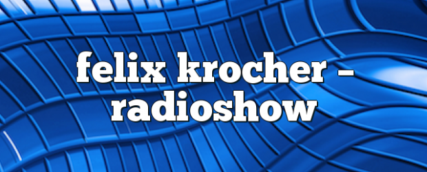 Airs on February 06, 2017 at 04:00PM Featuring: Felix Krocher\nFelix will deliver 60 Minutes of nothing but straight Techno to your soundsystem, every week. Mondays at 4pm EST on enationFM.