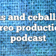 Airs on March 27, 2017 at 07:00AM Chus and Ceballos have been the pioneers and creators of the underground movement known as IBERICAN SOUND.