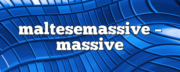 Airs on October 10, 2017 at 05:00PM Techno. you may also like: Maltesemassive – Massive Dance Show Maltesemassive – Massive Dance Show Maltesemassive – Massive Dance Show