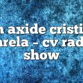 ian axide cristian varela – CV Radio Show