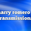 harry romero – Transmissions