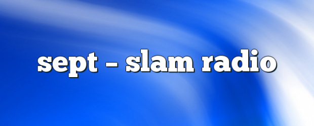 Airs on September 13, 2018 at 04:00PM Hosted by the Glaswegian duo (Stuart McMillan and Orde Meikle.) Thursdays at 4pm you may also like: 747 – Slam Radio slam live […]