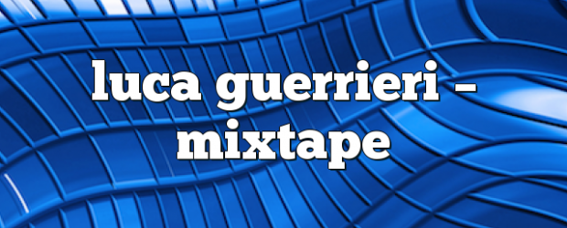 Airs on October 22, 2018 at 02:00PM Mixtape Radio Show – Your Weekly Dose of House Music. Mondays at 2pm you may also like: Luca Guerrieri – Mixtape Luca Guerrieri […]