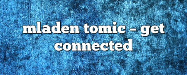 Airs on March 28, 2020 at 08:00PM mladen tomic on enationFM