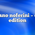Airs on June 8, 2020 at 01:00PM Stefano Noferini Presents Club Edition