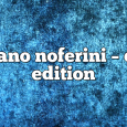 Airs on January 4, 2021 at 01:00PM Stefano Noferini Presents Club Edition